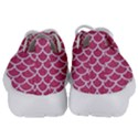 SCALES1 WHITE MARBLE & PINK DENIM Kids  Lightweight Sports Shoes View4