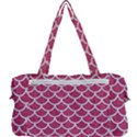 SCALES1 WHITE MARBLE & PINK DENIM Multi Function Bag	 View2