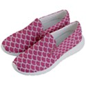 SCALES1 WHITE MARBLE & PINK DENIM Men s Lightweight Slip Ons View2