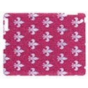 ROYAL1 WHITE MARBLE & PINK DENIM (R) Apple iPad 3/4 Hardshell Case View1
