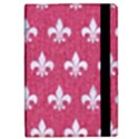 ROYAL1 WHITE MARBLE & PINK DENIM (R) iPad Mini 2 Flip Cases View2