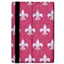 ROYAL1 WHITE MARBLE & PINK DENIM (R) iPad Mini 2 Flip Cases View4