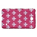 ROYAL1 WHITE MARBLE & PINK DENIM (R) Samsung Galaxy Tab 4 (7 ) Hardshell Case  View1