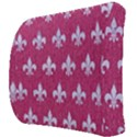 ROYAL1 WHITE MARBLE & PINK DENIM (R) Back Support Cushion View3