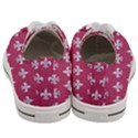 ROYAL1 WHITE MARBLE & PINK DENIM (R) Women s Low Top Canvas Sneakers View4