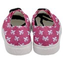 ROYAL1 WHITE MARBLE & PINK DENIM (R) Women s Classic Low Top Sneakers View4