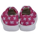 ROYAL1 WHITE MARBLE & PINK DENIM (R) Kids  Classic Low Top Sneakers View4