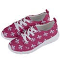 ROYAL1 WHITE MARBLE & PINK DENIM (R) Women s Lightweight Sports Shoes View2