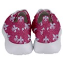 ROYAL1 WHITE MARBLE & PINK DENIM (R) Women s Lightweight Sports Shoes View4