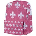 ROYAL1 WHITE MARBLE & PINK DENIM (R) Giant Full Print Backpack View4