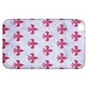 ROYAL1 WHITE MARBLE & PINK DENIM Samsung Galaxy Tab 3 (8 ) T3100 Hardshell Case  View1