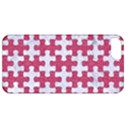PUZZLE1 WHITE MARBLE & PINK DENIM Apple iPhone 5 Classic Hardshell Case View1