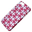 PUZZLE1 WHITE MARBLE & PINK DENIM Apple iPhone 5 Classic Hardshell Case View4