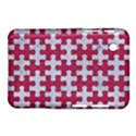 PUZZLE1 WHITE MARBLE & PINK DENIM Samsung Galaxy Tab 2 (7 ) P3100 Hardshell Case  View1
