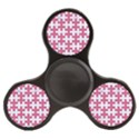 PUZZLE1 WHITE MARBLE & PINK DENIM Finger Spinner View1