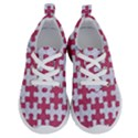 PUZZLE1 WHITE MARBLE & PINK DENIM Running Shoes View1