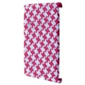 HOUNDSTOOTH2 WHITE MARBLE & PINK DENIM Apple iPad 3/4 Hardshell Case (Compatible with Smart Cover) View3