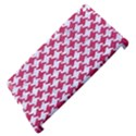HOUNDSTOOTH2 WHITE MARBLE & PINK DENIM Apple iPad 3/4 Hardshell Case (Compatible with Smart Cover) View4