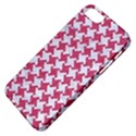 HOUNDSTOOTH2 WHITE MARBLE & PINK DENIM Apple iPhone 5 Classic Hardshell Case View4