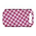 HOUNDSTOOTH2 WHITE MARBLE & PINK DENIM Samsung Galaxy S III Hardshell Case (PC+Silicone) View1