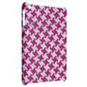 HOUNDSTOOTH2 WHITE MARBLE & PINK DENIM Apple iPad Mini Hardshell Case View2
