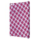 HOUNDSTOOTH2 WHITE MARBLE & PINK DENIM Apple iPad Mini Hardshell Case View3