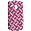 HOUNDSTOOTH2 WHITE MARBLE & PINK DENIM Galaxy S3 Mini View2