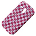 HOUNDSTOOTH2 WHITE MARBLE & PINK DENIM Galaxy S3 Mini View4
