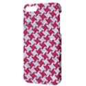 HOUNDSTOOTH2 WHITE MARBLE & PINK DENIM Apple iPhone 5 Hardshell Case with Stand View3