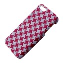 HOUNDSTOOTH2 WHITE MARBLE & PINK DENIM Apple iPhone 5 Premium Hardshell Case View4