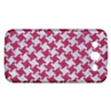 HOUNDSTOOTH2 WHITE MARBLE & PINK DENIM Samsung Galaxy Mega 5.8 I9152 Hardshell Case  View1