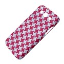 HOUNDSTOOTH2 WHITE MARBLE & PINK DENIM Samsung Galaxy Mega 5.8 I9152 Hardshell Case  View4