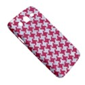 HOUNDSTOOTH2 WHITE MARBLE & PINK DENIM Samsung Galaxy Mega 5.8 I9152 Hardshell Case  View5