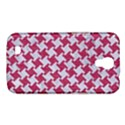 HOUNDSTOOTH2 WHITE MARBLE & PINK DENIM Samsung Galaxy Mega 6.3  I9200 Hardshell Case View1