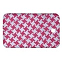 HOUNDSTOOTH2 WHITE MARBLE & PINK DENIM Samsung Galaxy Tab 3 (7 ) P3200 Hardshell Case  View1