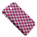 HOUNDSTOOTH2 WHITE MARBLE & PINK DENIM Samsung Galaxy Tab 3 (7 ) P3200 Hardshell Case  View5