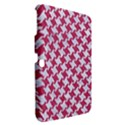 HOUNDSTOOTH2 WHITE MARBLE & PINK DENIM Samsung Galaxy Tab 3 (10.1 ) P5200 Hardshell Case  View2