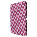 HOUNDSTOOTH2 WHITE MARBLE & PINK DENIM Samsung Galaxy Tab 3 (10.1 ) P5200 Hardshell Case  View3