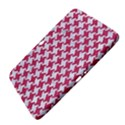 HOUNDSTOOTH2 WHITE MARBLE & PINK DENIM Samsung Galaxy Tab 3 (10.1 ) P5200 Hardshell Case  View4