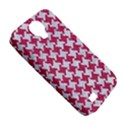 HOUNDSTOOTH2 WHITE MARBLE & PINK DENIM Samsung Galaxy S4 Classic Hardshell Case (PC+Silicone) View5