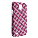 HOUNDSTOOTH2 WHITE MARBLE & PINK DENIM Galaxy S4 Active View2