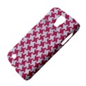 HOUNDSTOOTH2 WHITE MARBLE & PINK DENIM Galaxy S4 Active View4