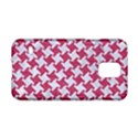 HOUNDSTOOTH2 WHITE MARBLE & PINK DENIM Samsung Galaxy S5 Hardshell Case  View1