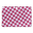 HOUNDSTOOTH2 WHITE MARBLE & PINK DENIM Samsung Galaxy Tab Pro 10.1 Hardshell Case View1