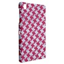 HOUNDSTOOTH2 WHITE MARBLE & PINK DENIM Samsung Galaxy Tab Pro 8.4 Hardshell Case View2
