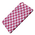 HOUNDSTOOTH2 WHITE MARBLE & PINK DENIM Samsung Galaxy Tab Pro 8.4 Hardshell Case View5