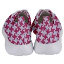 HOUNDSTOOTH2 WHITE MARBLE & PINK DENIM Women s Lightweight Sports Shoes View4