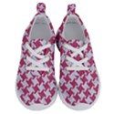 HOUNDSTOOTH2 WHITE MARBLE & PINK DENIM Running Shoes View1