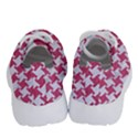 HOUNDSTOOTH2 WHITE MARBLE & PINK DENIM Running Shoes View4