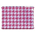 HOUNDSTOOTH1 WHITE MARBLE & PINK DENIM Apple iPad Mini Hardshell Case View1
